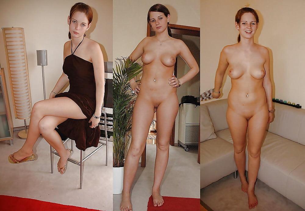 Dressed Undressed Amateur Milf Mom Lover