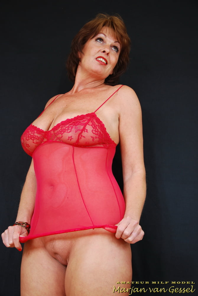 Desperate Marjan Van Gessel Mature Milf Dutch Amateur Nude Model Pictures 1