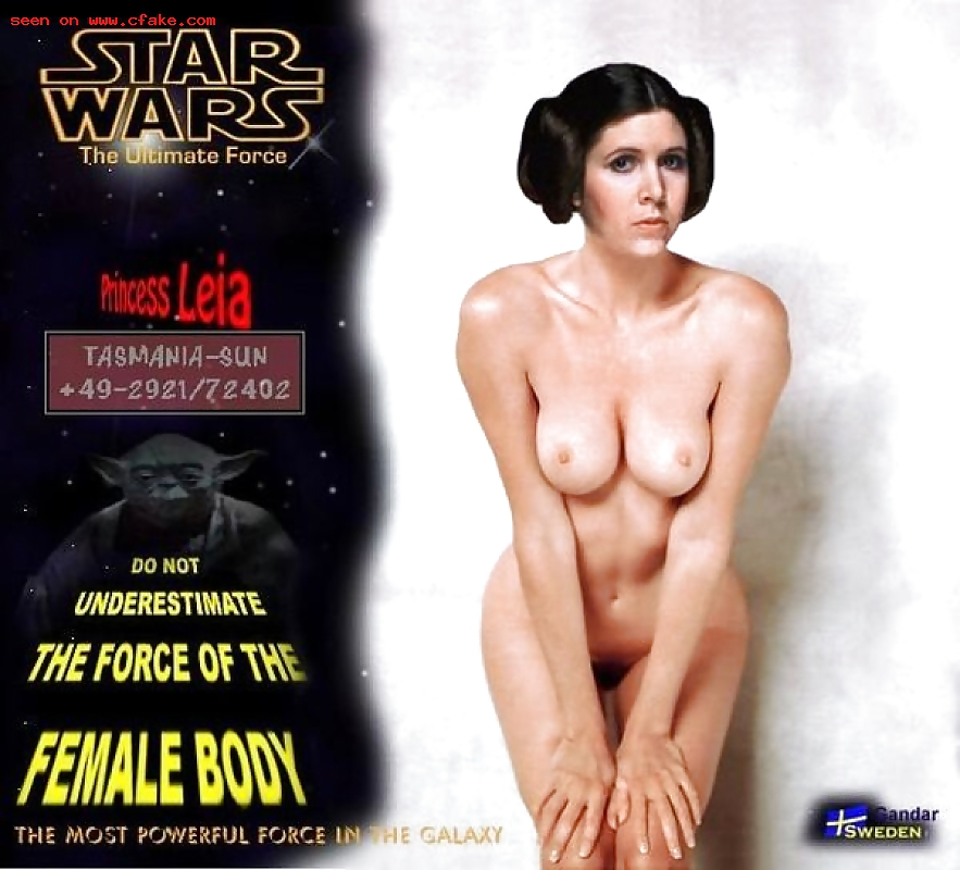 Princess Leia Nude Porn Fake Images