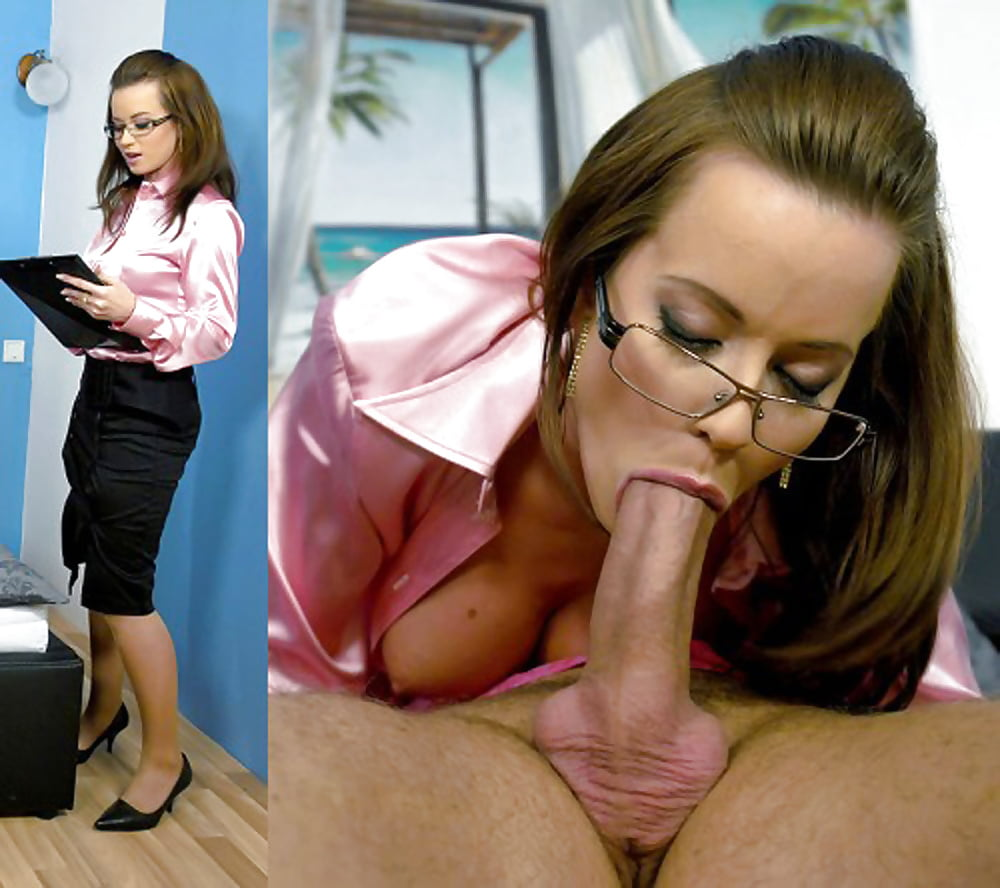 Sexy office blowjob young porn