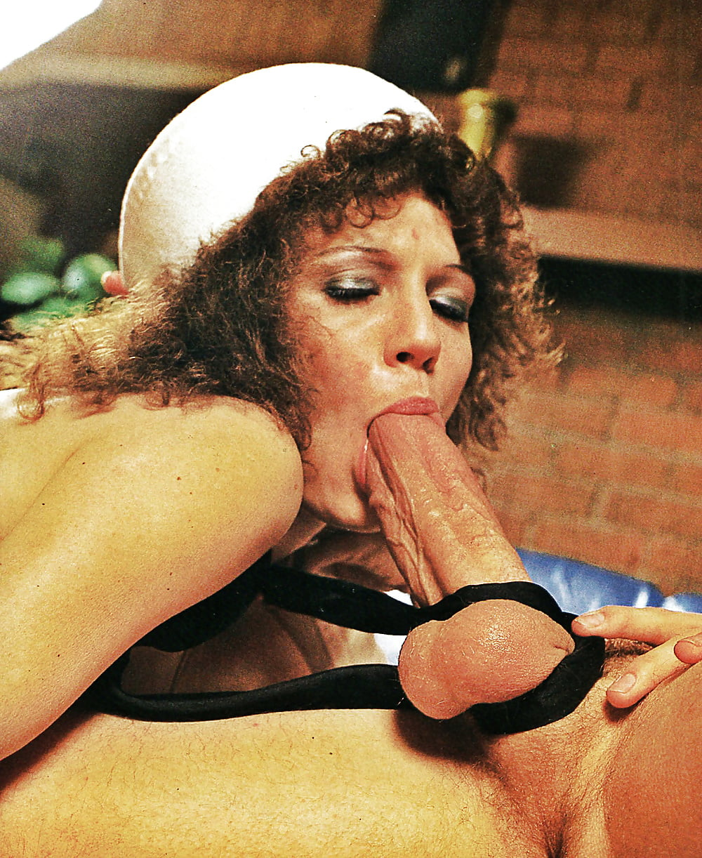 Vintage women sucking big shaft #12