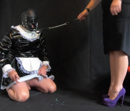 cleaning Femdom stories