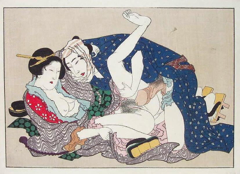 Порно эротическая картинка японии