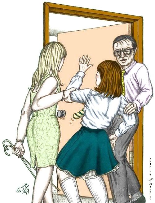 Cruel babysitter spank, lovely nymphets ls