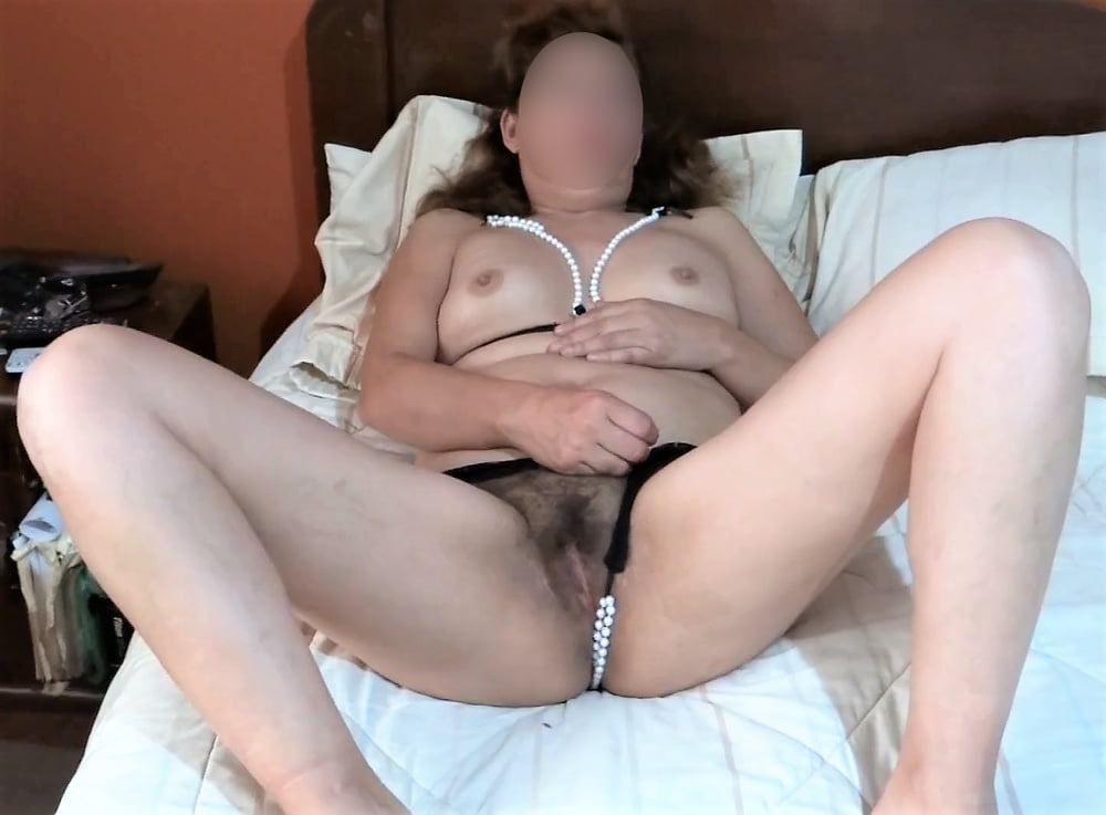 My hairy wife, watch her videos too - 42 Pics