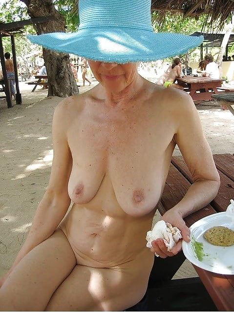 Nude pics of old women down small tits