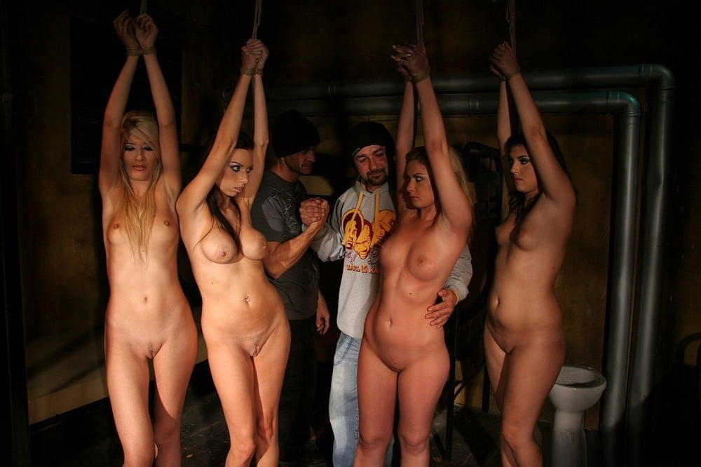 Teen girl slave auction