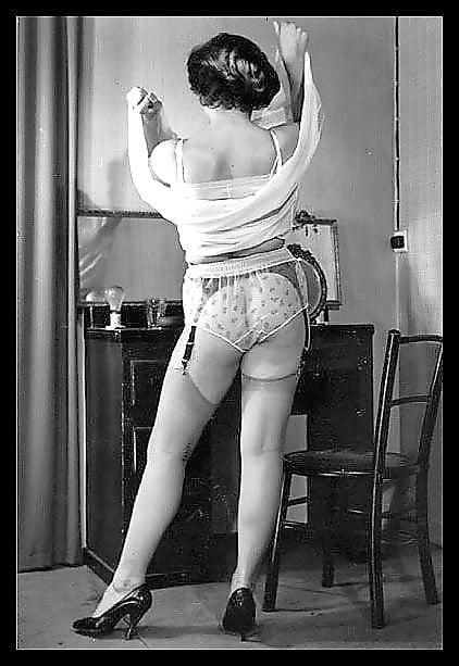 Vintage stocking porn pictures