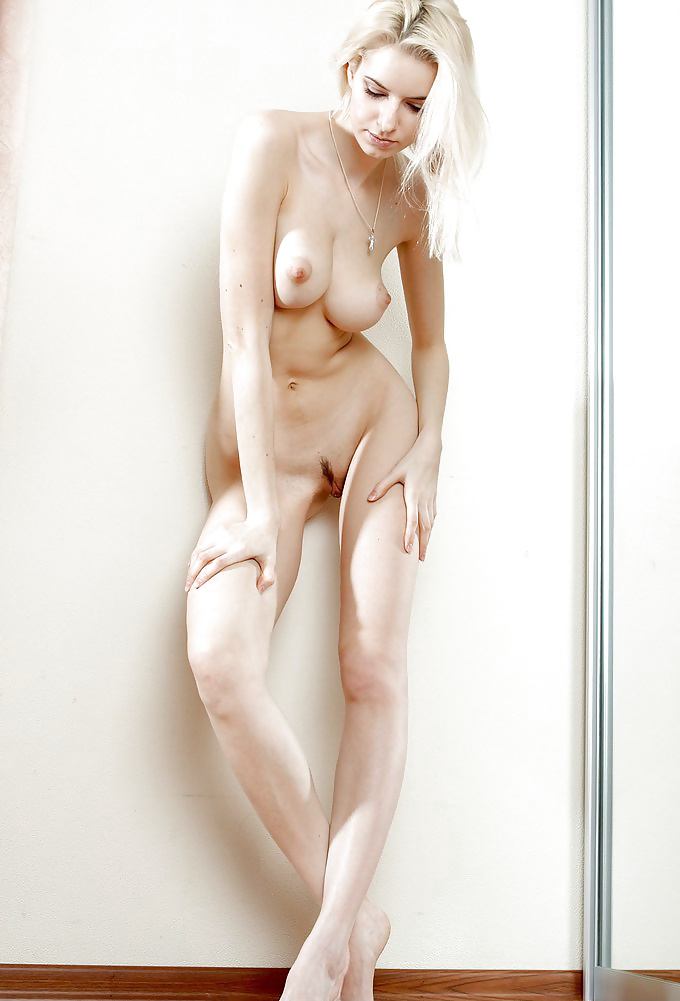 Nude tall blonde — 13