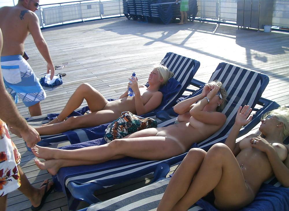 Nude women on a cruise ship — 3