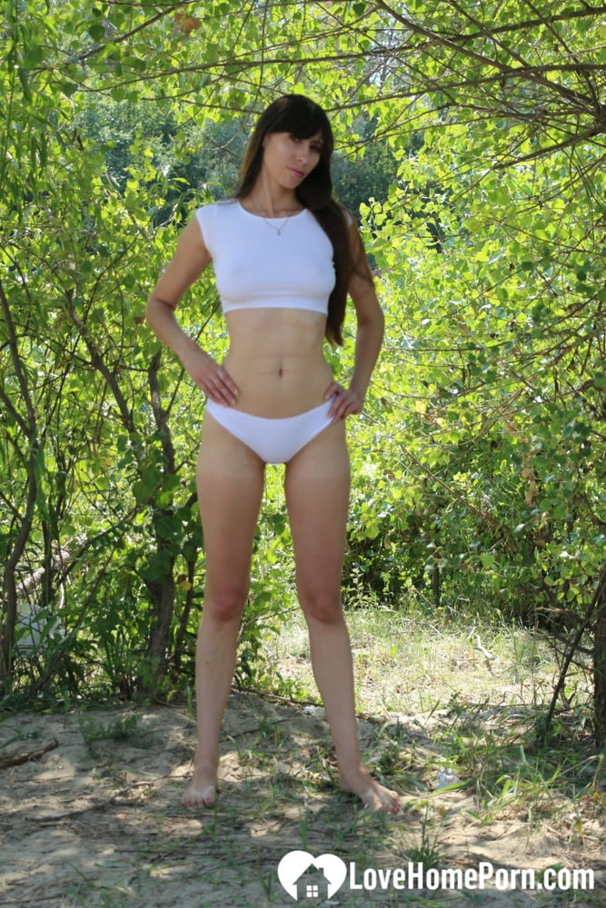 Kinky girlfriend teases me during our walk - 68 Pics