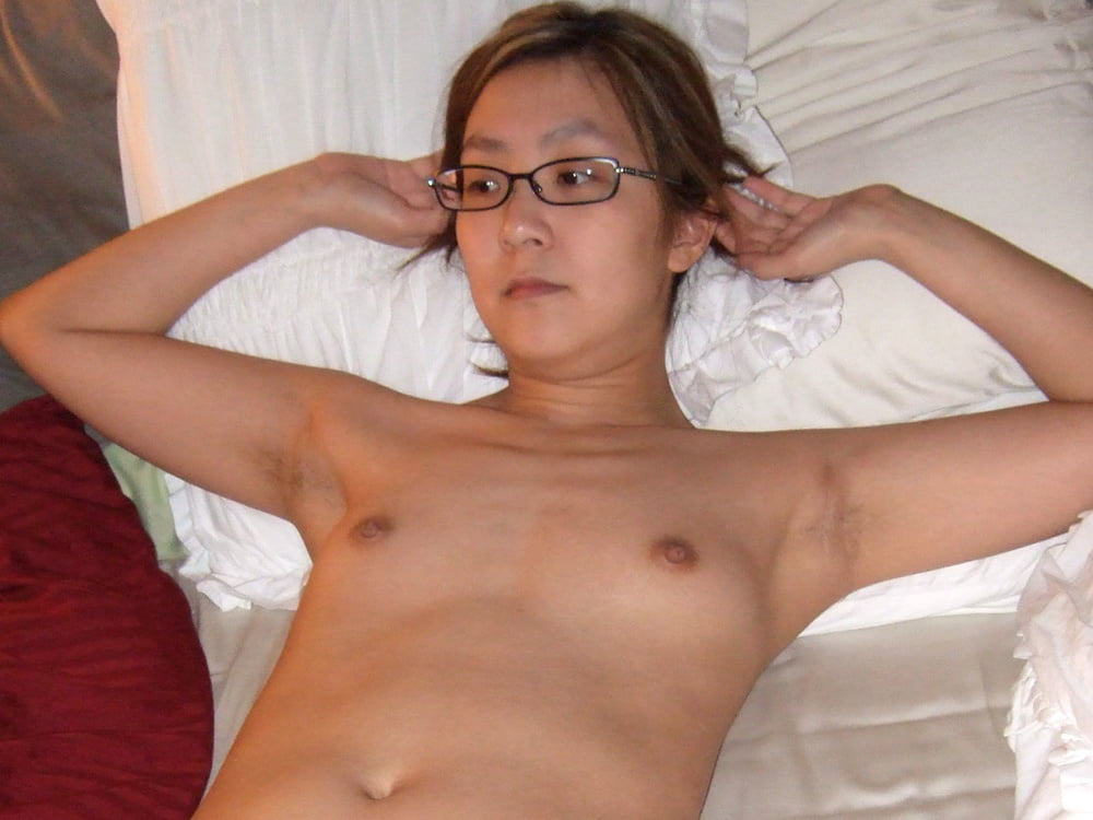 Petite asian small tits