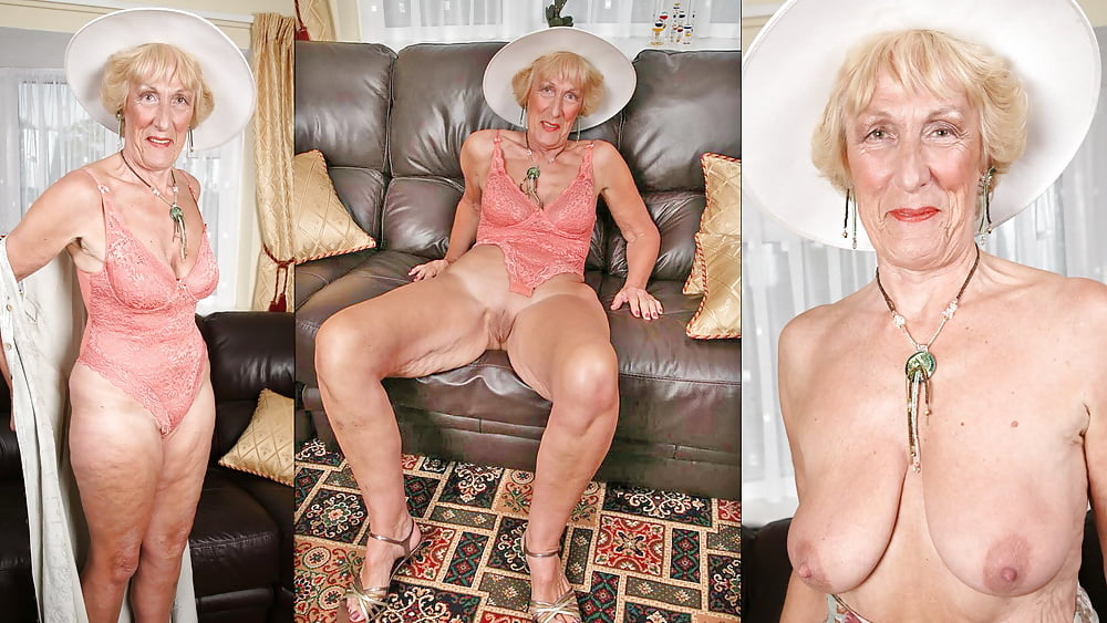 Old aged naked women