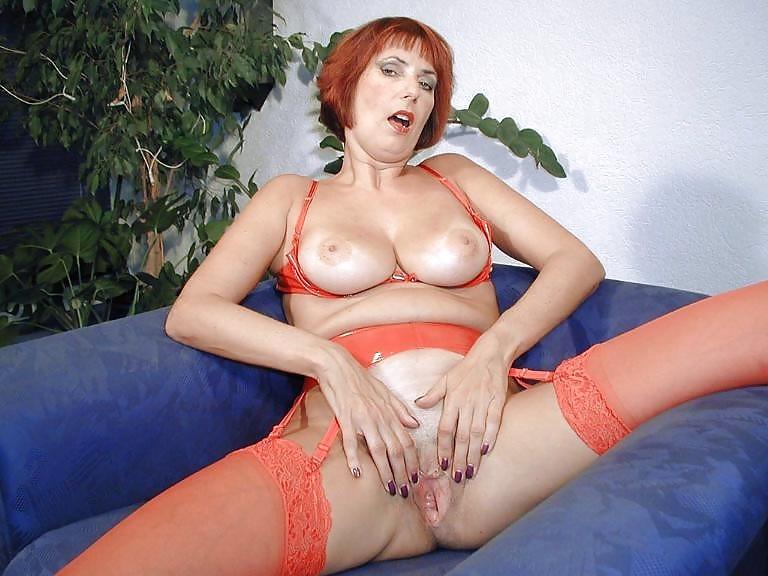 Mature milf lingerie