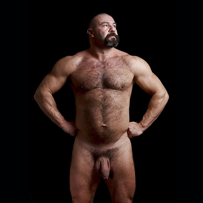 Big daddy muscle nude hot